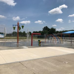 Splash Pad - Ernsthausen Recreation Center gallery thumbnail