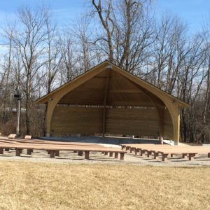 Johnny Appleseed Park District - Enwood Apex Band Shelter & Custom Shade gallery thumbnail